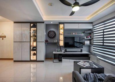 Yishun 4 Room BTO Interior Design